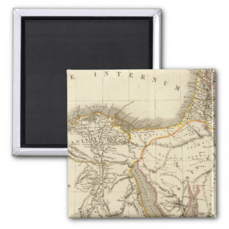 Middle East atlas map Magnet