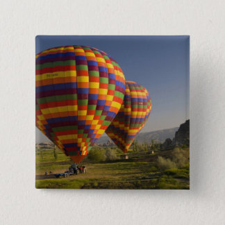 Middle East central part of Turkey in Cappadocia 15 Cm Square Badge