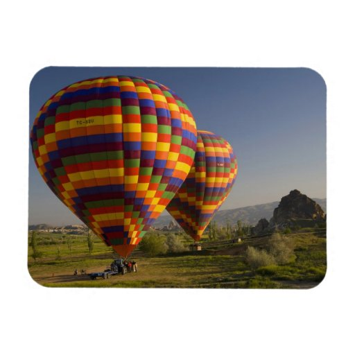 Middle East central part of Turkey in Cappadocia Rectangular Magnets