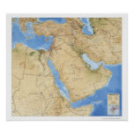 Middle East Map 1993