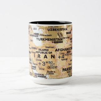 Middle East Map Mug