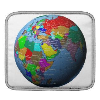 Middle East on Globe iPad Sleeves