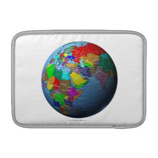 Middle East on Globe MacBook Air Sleeve