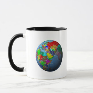 Middle East on Globe Mug