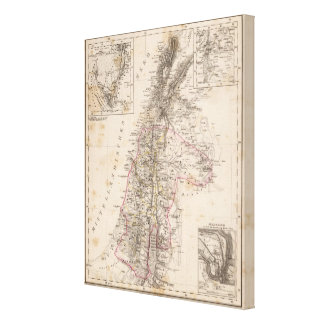 Middle East, Palestine Canvas Print