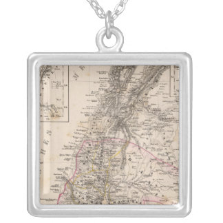 Middle East, Palestine Silver Plated Necklace
