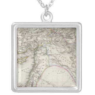 Middle East Silver Plated Necklace
