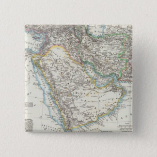 Middle East, South Asia 15 Cm Square Badge