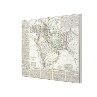 Middle East, South Asia Canvas Print