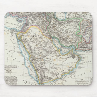 Middle East, South Asia Mouse Pad