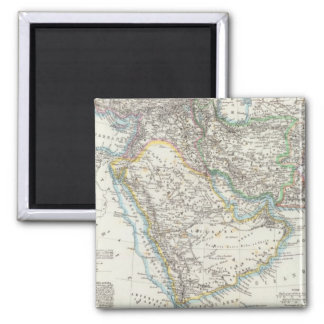 Middle East, South Asia Square Magnet