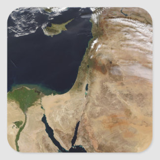 Middle East Square Sticker