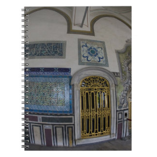 Middle East Turkey and city of Istanbul with the 2 Notebooks