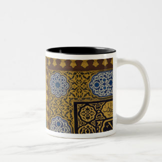 Middle East Turkey and city of Istanbul with the Two-Tone Coffee Mug