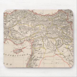 Middle East, Turkey, Syria Mouse Mat