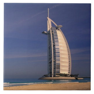 Middle East, United Arab Emirates, Dubai, Burj Large Square Tile