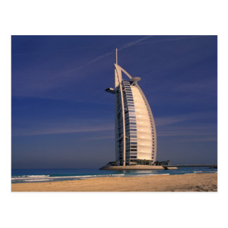 Middle East, United Arab Emirates, Dubai, Burj Postcard