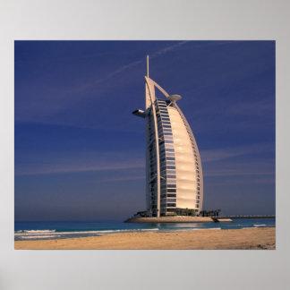 Middle East, United Arab Emirates, Dubai, Burj Poster