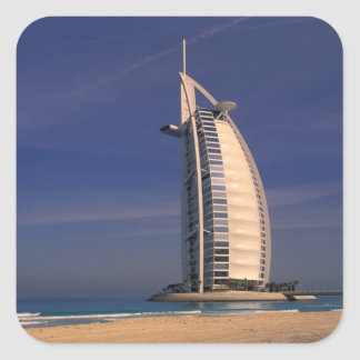 Middle East, United Arab Emirates, Dubai, Burj Square Sticker