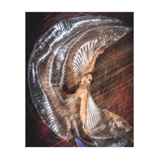 Middle Eastern Dancer Canvas Print