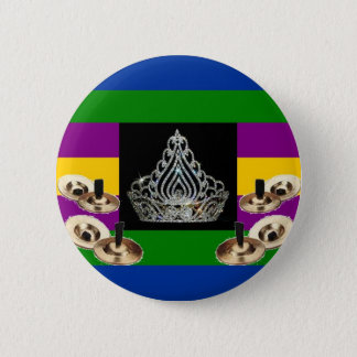 Middle-Eastern Diva Pride 6 Cm Round Badge