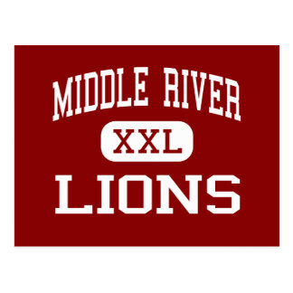Middle River - Lions - Middle - Baltimore Maryland Postcard