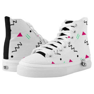Middle School Geometric Inverted shoes Printed Shoes