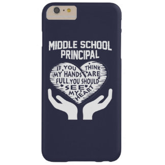 Middle School Principal Barely There iPhone 6 Plus Case