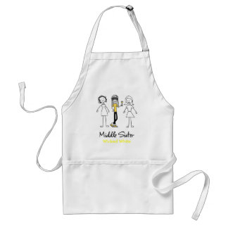 Middle Sister Cook s Apron - Customized