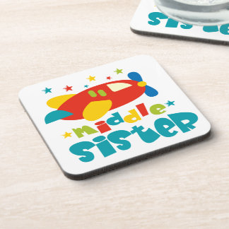 Middle Sister Plane Coasters