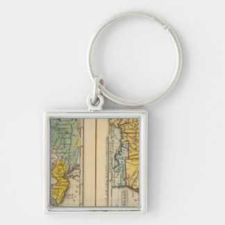 Middle & Southern States Key Ring