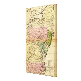 Middle States Canvas Print