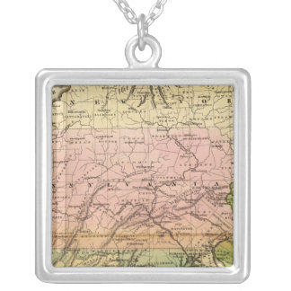 Middle States Silver Plated Necklace