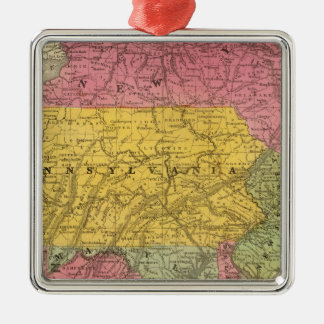 Middle States, USA Christmas Ornament
