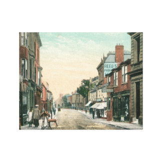Middle Street, Driffield (1900) Canvas Print