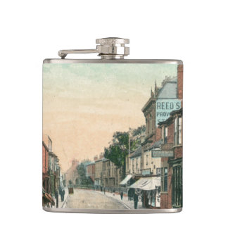 Middle Street, Driffield (1900) Hip Flask