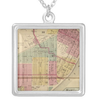 Middleport, Ohio Silver Plated Necklace