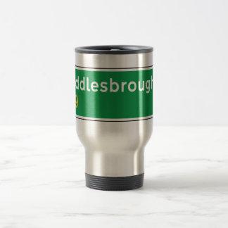 Middlesbrough, UK Road Sign Stainless Steel Travel Mug
