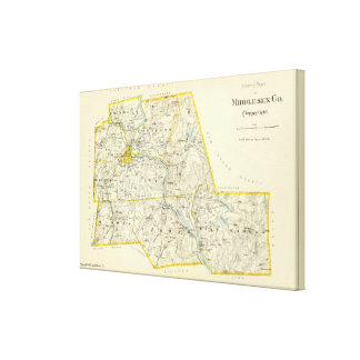 Middlesex Co N Canvas Print