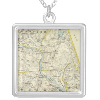 Middlesex Co N Silver Plated Necklace