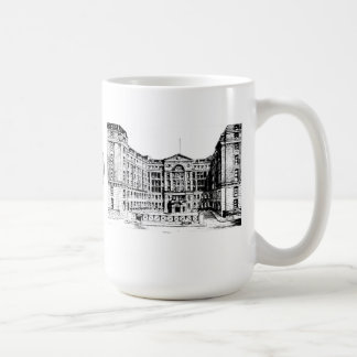 Middlesex Hospital Mug (Black & White)