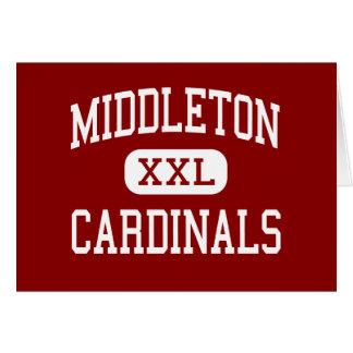 Middleton - Cardinals - High - Middleton Wisconsin Greeting Card