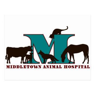 Middletown Animal Hospital Postcard