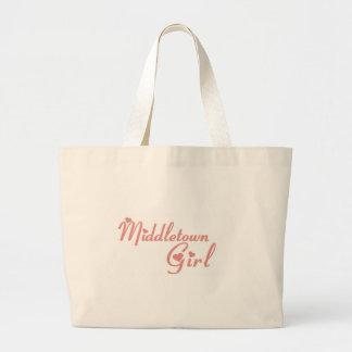 Middletown Girl tee shirts Jumbo Tote Bag