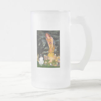 MidEve - Japanese Chin 3 Frosted Glass Mug