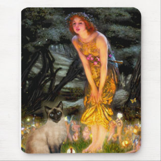 MidEve - Seal Point Siamese cat Mousepad