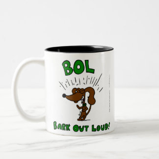 "Midge ""BOL Bark Out Loud"" Mug"