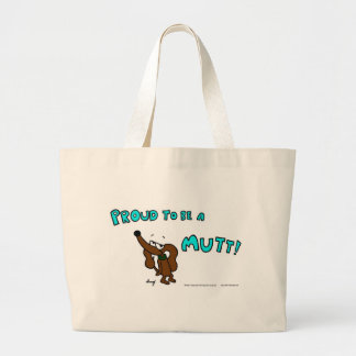 Midge PROUD TO BE A MUTT Tote Bag