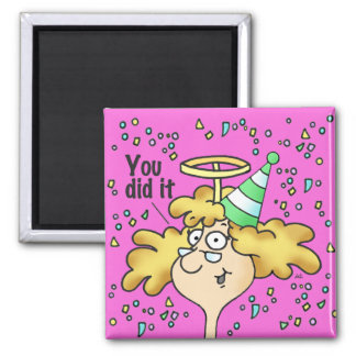 Midge's Weight Loss Celebration Magnet