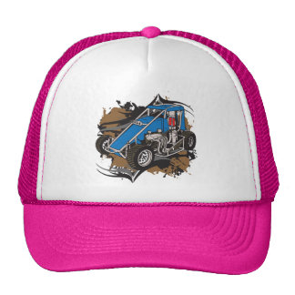 Midget Race Car Mesh Hats